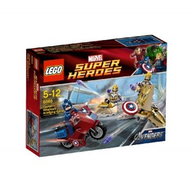 LEGO Captain Americas Avenging Cycle 6865