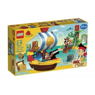 LEGO DUPLO Jakes Pirate Ship Bucky 10514