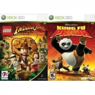 Lego Indiana Jones: The Original Adventures / Kung Fu Panda