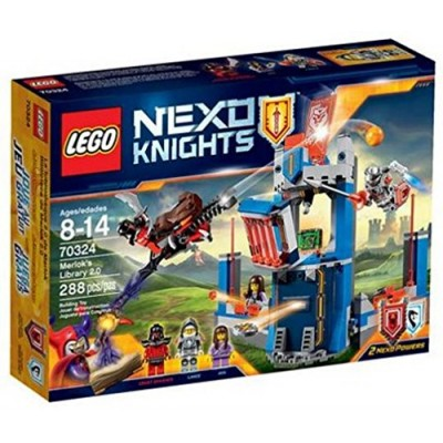Lego Nexo Knights 70324 Merlock's Library 2.0 288 Piece set