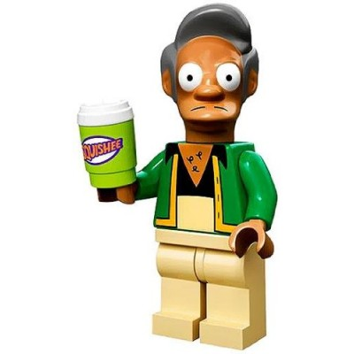 Lego Simpsons Series Collectible Minifigure - Apu Nahasapeemapetilon with Slushee (71005)