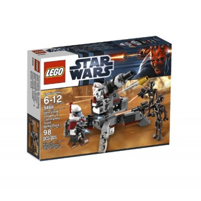 LEGO Star Wars Elite Clone Trooper and Commando Droid B 9488
