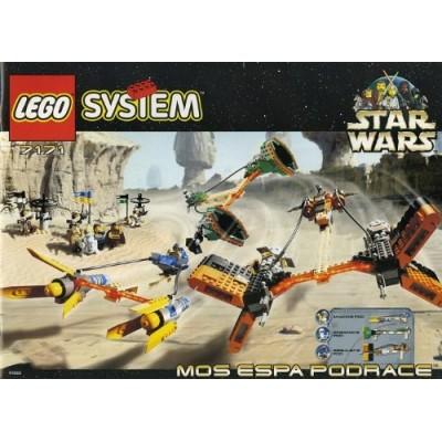LEGO Star Wars Set #7171 Mos Espa Podrace