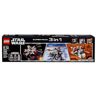 Lego Star Wars Super Pack 3 in 1 - 66534 Microfighters