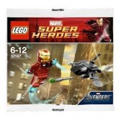 Lego Super Heroes Marvel Iron Man vs. Fighting Drone, Polybag # 30167