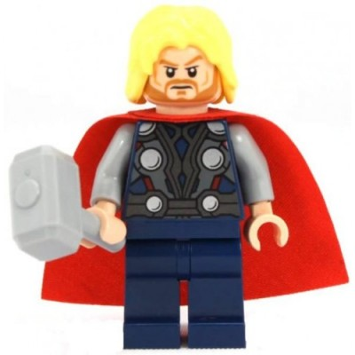 LEGO Super Heroes The Avengers Minifigure - Thor with Hammer (2012)