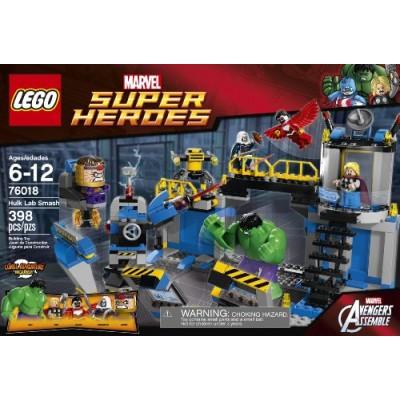 LEGO Superheroes 76018 Hulk Lab Smash