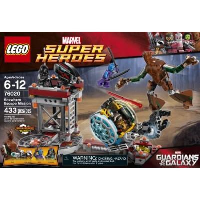 LEGO Superheroes 76020 Knowhere Escape Mission Building Set