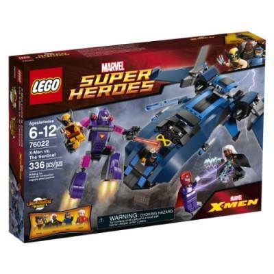 LEGO Superheroes 76022 X-Men vs. The Sentinel Building Set