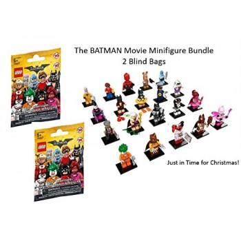 Lego The Batman Movie Minifigure Blind Bag Bundle 2 Bags