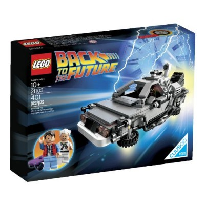 LEGO The DeLorean Time Machine Building Set 21103