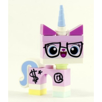 LEGO The Movie LOOSE Minifigure Biznis Kitty [Wearing Glasses & Suit]