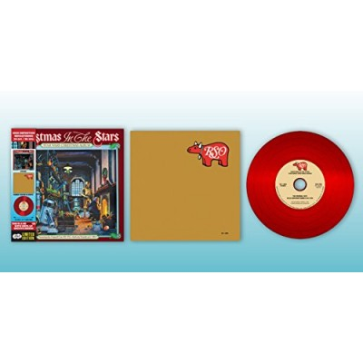 Star Wars Christmas Album-Amazon Exclusive - CD Deluxe- Vinyl Replica- Limited Red Disc