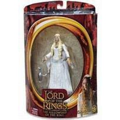 Lord of the Rings Fellowship of the Ring Red Pack Action Figure Galadriel Hard to Find!