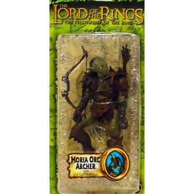 Lord of the Rings the Fellowship of the Ring Moria Orc Archer with Evil Goblin Armor