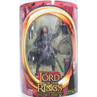 """Lord of the Rings The Two Towers ARAGORN 6"""" Action Figure (2002 ToyBiz)"""