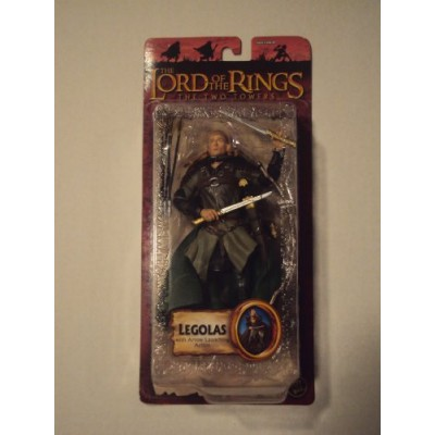 Lord of the Rings Trilogy Two Towers Action Figure Series 4 Legolas with Arrow Launching Action
