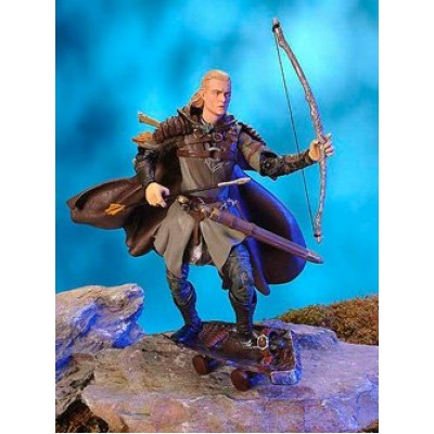 Lord of the Rings Two Towers Action Figure Helms Deep Legolas