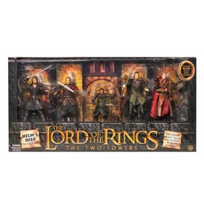 Lord of the Rings Two Towers Heroes of Helms Deep Action Figure 5Pack Includes Haldir