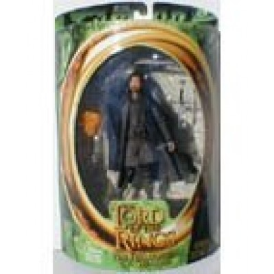 "The Lord of The Rings "" The Fellowship of The Ring"" Series 7 Inch Tall Action Figure - STRIDER with Sword-Drawing and Sword-Slashing Action"