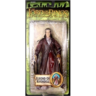 The Lord of the Rings the Fellowship of the Rings Trilogy Elrond of Rivendell Action Figure