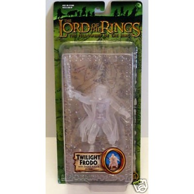 The Lord of the Rings the Fellowship of the Rings Twilight Frodo Action Figure with Sword Attack Action