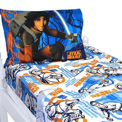"""Lucas Film Star Wars Rebels """"Fight"""" Sheet Set, Twin"""