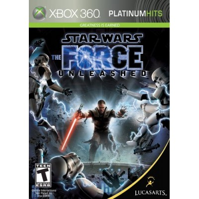 Star Wars the Force Unleashed - Xbox 360