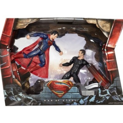 2013 SDCC Mattel Exclusive Superman vs. General Zod Movie Masters