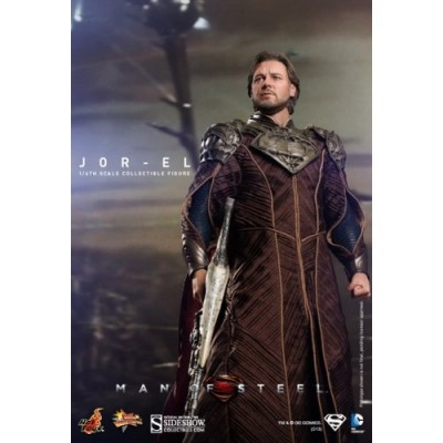 Man of Steel Hot Toys Movie Masterpiece 1/6 Scale Collectible Figure Jor-El