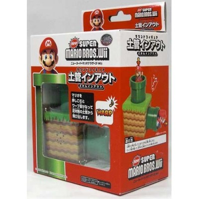 1 X New Super Mario Bros Wii Warp Mini Sound Figure by Third Party