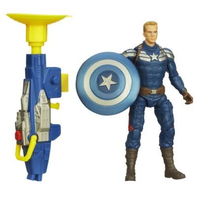 Captain America Super Soldier Gear Grapple Cannon Action Figure