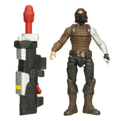 Captain America Super Soldier Gear Precision Strike Winter Soldier Figure