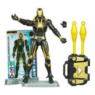 Disney Iron Man Mark V Stealth Armor Iron Man 2 Action Figure -- 4''