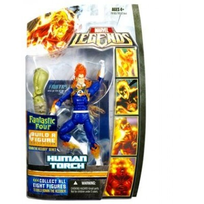 Fantastic Four Legends Series 1 > Human Torch Action Figure