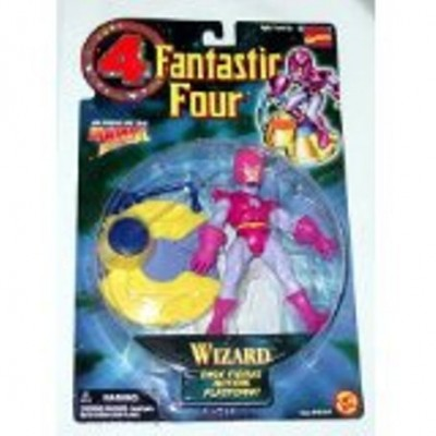 Fantastic Four The Wizard Marvel Action Hour Action Figure