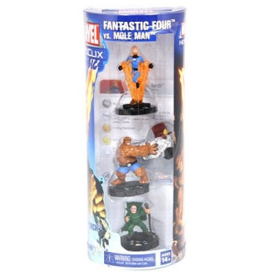 Hero Clix Marvel Fantastic Four vs. Mole Man Battle Pack