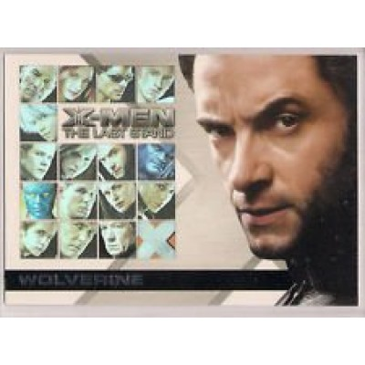Hugh Jackman/Wolverine (Trading Card) 2006 X-Men The Last Stand Casting Call #CC2
