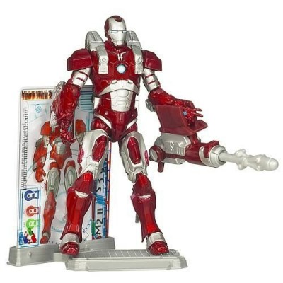Iron Man 2 Concept Series Inferno Mission Armor Iron Man Action Figure