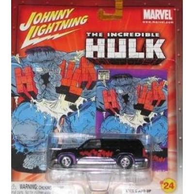 Johnny Lightning Hulk Chevy Tahoe (2003)