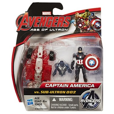 Marvel Avengers Age of Ultron Captain America Vs. Sub-Ultron 002 2.5-inch Figure Pack