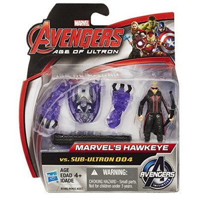 Marvel Avengers Age of Ultron Hawkeye Vs. Sub-Ultron 004 2.5-inch Figure Pack