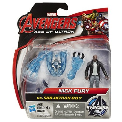 Marvel Avengers Age of Ultron Nick Fury Vs. Sub-Ultron 007 2.5-inch Figure Pack