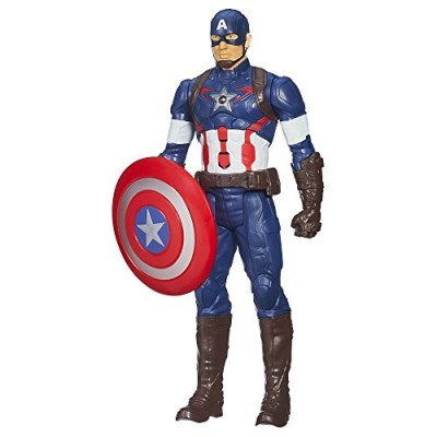 Marvel Avengers Age of Ultron Titan Hero Tech Captain America 12 Inch Figure