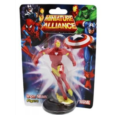 """Marvel Avengers Alliance Iron Man 2""""- 3"""" Cake Topper Figurine"""