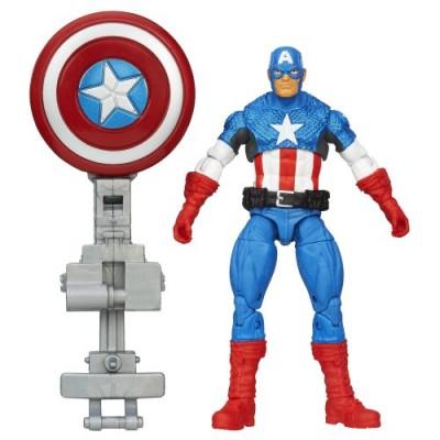 Marvel Avengers Assemble Shield Blast Captain America Figure