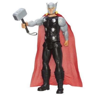 "Marvel Avengers Assemble Titan Hero Series Thor 12"" Action Figure"