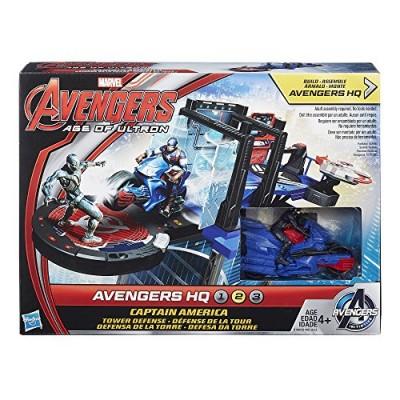 Marvel Avengers HQ Captain America Tower Defense Set