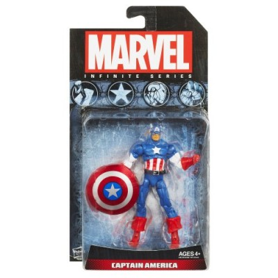 Marvel Avengers Infinite Series Captain America Figure