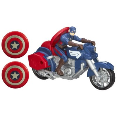 Marvel Captain America Shield Blast Motorcycle Vehicle